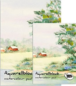Aquarellblock Basic 210g/qm A3 10Blatt 182.143 -