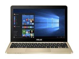 Asus E200HA-FD0006TS 29,4 cm (11,6 Zoll Glare Type) Notebook (Intel Atom x5-Z8300, 2GB RAM, 32GB eMMC, Intel HD, Win 10 Home) gold -