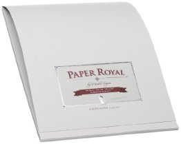 Briefblock 40/Din A4 Paper Royal Eisgrau -