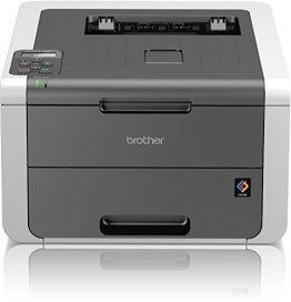 Brother HL-3142CW High-Speed Farblaserdrucker mit WLAN weiß/grau -