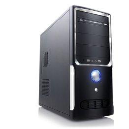 CSL Office PC Motion X2145 inkl. Windows 10 - Intel QuadCore 4x 2000MHz, 8GB RAM, 500GB HDD, Intel HD Grafik, DVD, USB 3.0 -