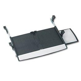 Fellowes Office Suites Deluxe Tastatur-Manager höhenverstellbar mit beweglicher Mausablage, schwarz -