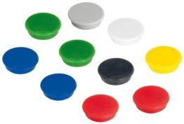 Franken HM20 99 Magnet (24 mm, 300 g) 10 Stück sortiert -