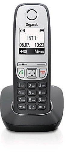 Gigaset A415 Dect-Schnurlostelefon, schwarz -