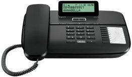 Gigaset DA710 schnurgebundenes Komforttelefon, Display, schwarz -