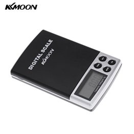 KKMOON 1000g/0.1g LCD Küchenwaage Briefwaage Taschenwaage Waage Schmuckwaage Elektronische Digitale Waage Ledertasche -