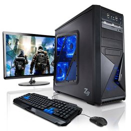 "Komplett-PC Gaming-PC Six-Core AMD FX-6300 6x3.5GHz (Turbo bis 4.1GHz), 22"" LED Bildschirm, Tastatur/Maus, Windows 7 64bit, GeForce GTX750, 1TB HDD, 8GB RAM -"