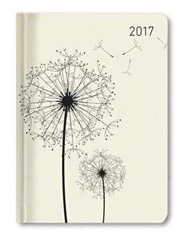 Ladytimer Blowballs 2017 - Taschenplaner / Taschenkalender A6 - Weekly - 192 Seiten -