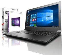 Lenovo (15,6 Zoll) Notebook (Intel Celeron N3060 2x2.48 GHz, 4GB RAM, 750GB S-ATA HDD, Intel HD Graphic, HDMI, Webcam, Bluetooth, USB 3.0, WLAN, Windows 10 Professional 64 Bit) #5159 -