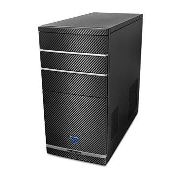 Medion 10020404 P4103D Desktop-PC (AMD A10-8750K APU, 8GB RAM, 2TB HDD, 128GB SSD, AMD Radeon R7 Grafikkarte, Win 10 Home) -