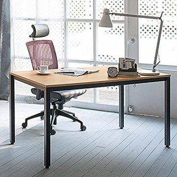 need schreibtisch computertisch pc tisch b rotisch holz 120 x 60 x 74 cm teak eiche farbe. Black Bedroom Furniture Sets. Home Design Ideas
