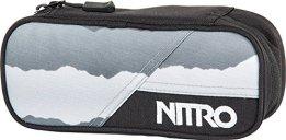 Nitro Snowboards Federmäppchen Pencil Case, Mountains Black / White, 20  x 8  x 6 cm, 0.96 Liter, 1131878001 -