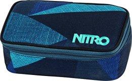 Nitro Snowboards Mäppchen Pencil Case XL, Fragments Blue, 6 x 8 x 20 cm, 1.3 Liter, 1161878043 -