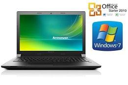 "Notebook Lenovo B50, 256GB SSD, 8GB RAM, 39cm (15.6"") mattes Display, Windows 7 Professional + Office (8GB RAM - 256GB SSD) -"