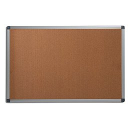 Office Marshal® Profi - Pinnwand mit hochwertiger Kork - Oberfläche | im stabilen Aluminiumrahmen | 4 Größen | 60x90cm -