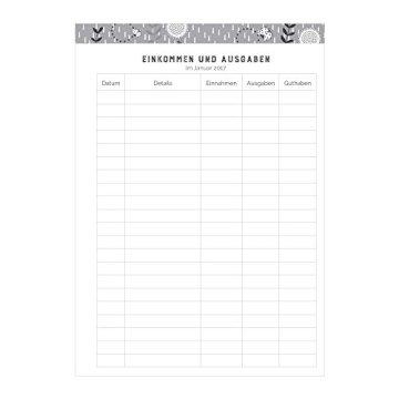 Organised Mum Life Book Familienplaner 2017. (Jan - Dez 2017) Spalten für sieben Personen. Terminkalender im A5-Format. Wochenansicht mit nützlichen organisatorischen Merkmalen -