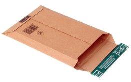 progressPACK Versandtasche Premium PP W01.02 aus Wellpappe, DIN A5, 187 x 272 x bis 50 mm, 25-er Pack, braun -