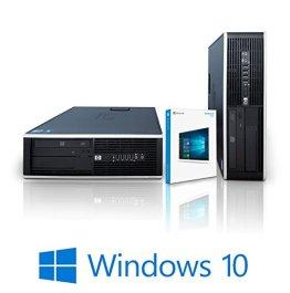 Refurbished Office PC mit 3 Jahren Garantie optional mit Win10   HP Compaq Elite 8000 SFF Desktop PC   Intel Core 2 Duo 2.93/3.00Ghz   DDR3 1333MHz RAM   250 GB HDD 7200 rpm   DVD ROM   Stabiles Metallgehäuse   Small Form Factor / Thin Client   10x USB 2.0   LAN (8GB DDR3 RAM   3.00Ghz E8400   Windows 10 Home) -