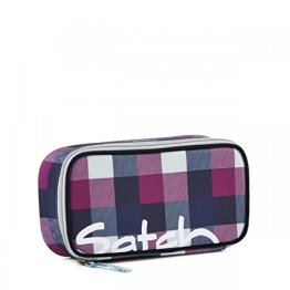 Satch Schlamperbox Berry Carry - Lila 966 karo lila blau -