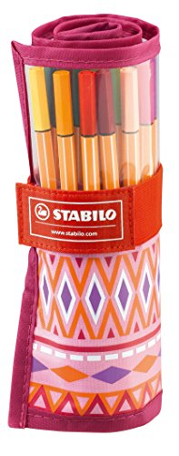STABILO point 88 25er Rollerset Festival Spirit pink/rosa - Fineliner -
