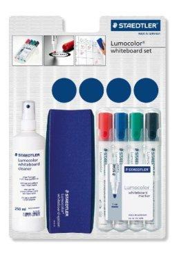 Staedtler 613 Lumocolor whiteboardmarker Set Grundausstattung für Whiteboards -