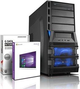 Ultra 8-Kern DirectX 12 Gaming-PC Computer FX 8300 8x4.20 GHz Turbo - GeForce GTX1060 3GB DDR5 - 16GB DDR3 1600 - 1TB HDD - Windows10 Prof - DVD±RW #5148 -