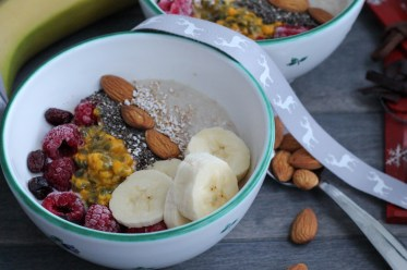 Porridge - Bowl - Austria - Homespa - Plantbased - Vegan - Healthyfood
