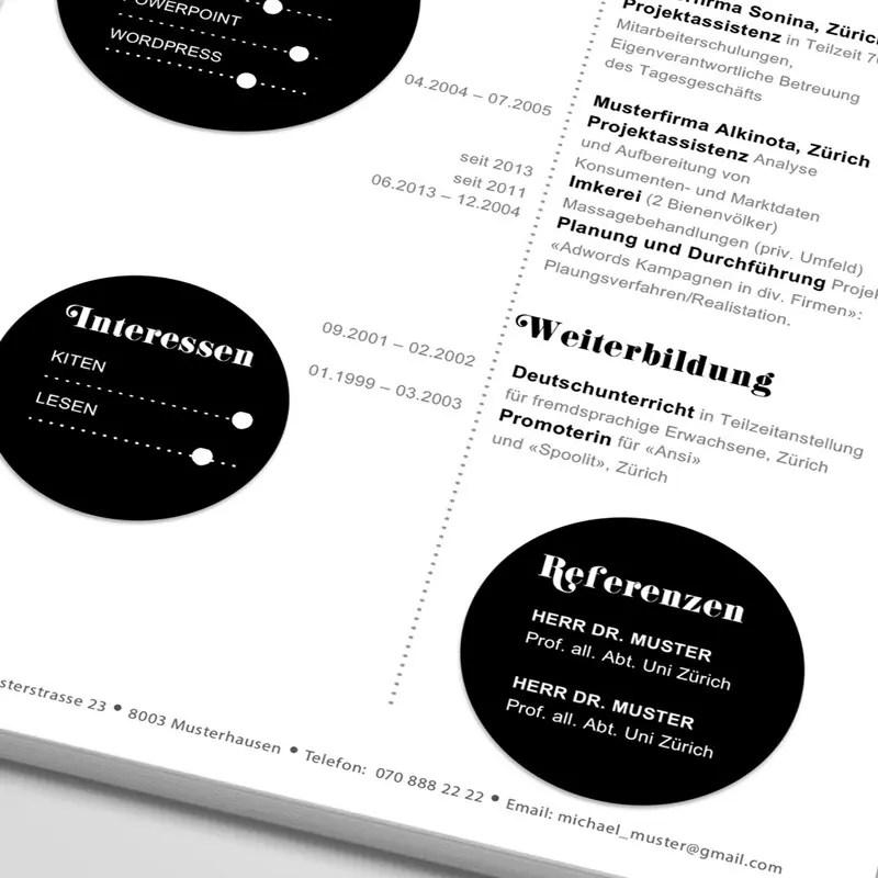 Fein Lebenslauf Schülerrand Zeitgenössisch - Dokumentationsvorlage ...