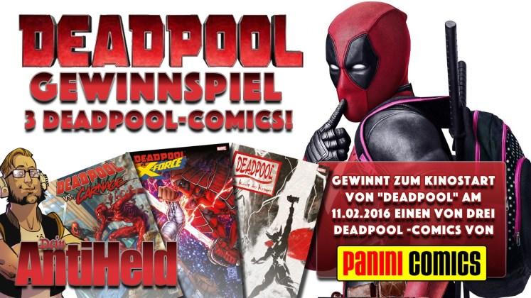 Deadpool Gewinnspiel Flyer