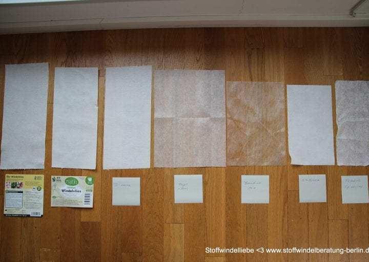 Windelvlies & Trockenfleece: Die Einlagen für Deine Stoffwindeln