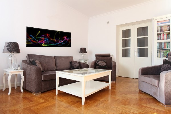 DB_1413_Abstrakte_Neonleuchtkette.Panorama 40x120cm Couch 3D 1