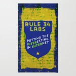 Rule 34 Labs rugs