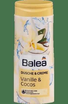 Cremedusche Vanille und Cocos