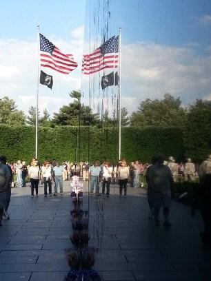 Reflection in the Wall - Korean War Memorial