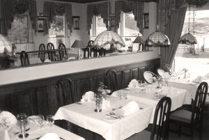 The Restaurant in 1989 - The History of Harvey's Point