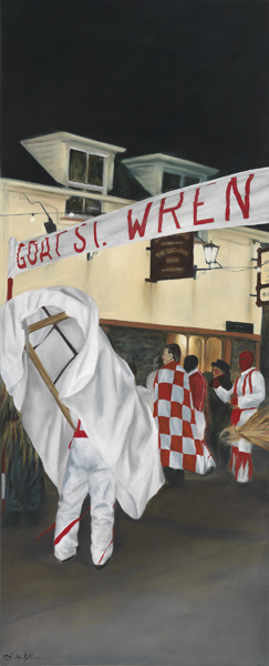 "Wren Series I 'Goat St' limited edition giclée print 508mm x 206mm (20"" x 8.1"")"