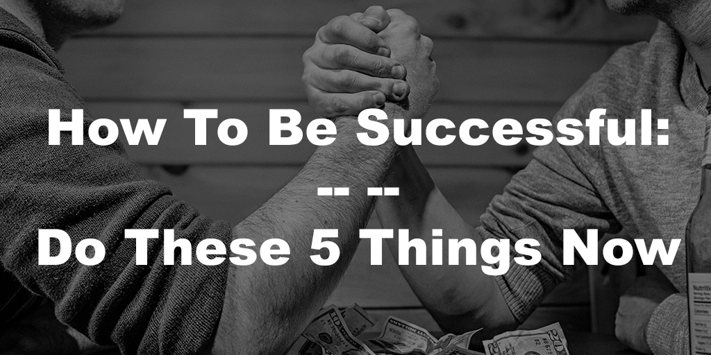 5 Things You Should Be Doing Daily