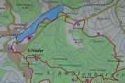 Karte Schiedersee