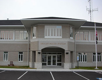 Dracut Police Station - Dracut, Massachusetts