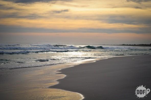 praia grande - por do sol em araial do cabo