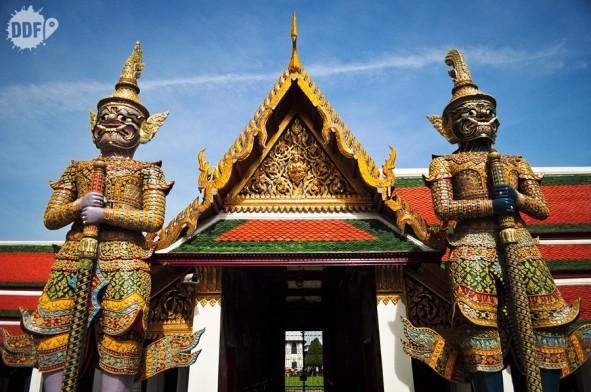 Grand, Palace, Templos, Bangkok, tailandia, thailand, bkk