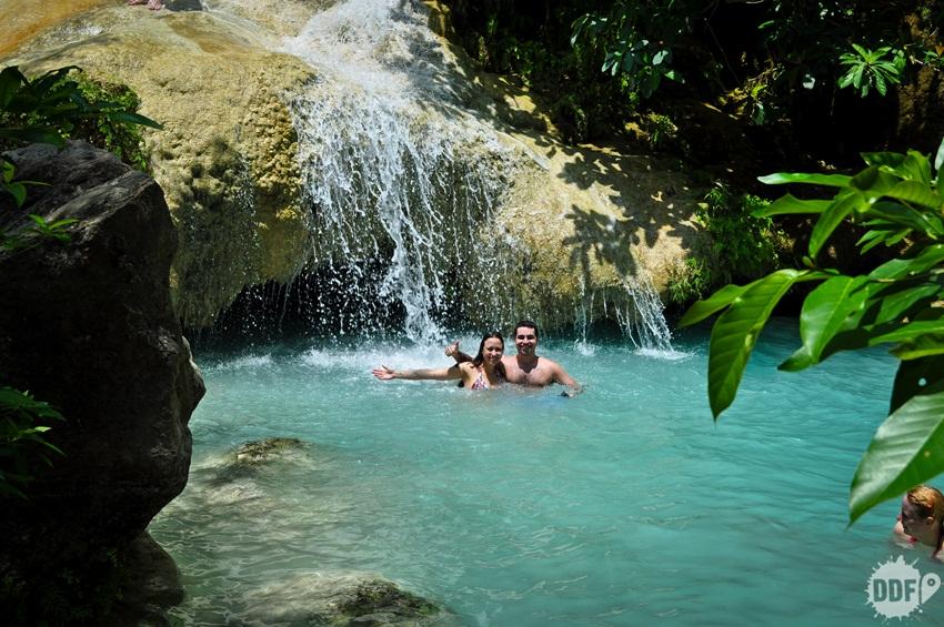 erawan, cachoeiras, 7, oarque, tailandia