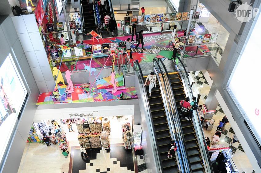 compras, bangkok, mbk, shopping, tailandia