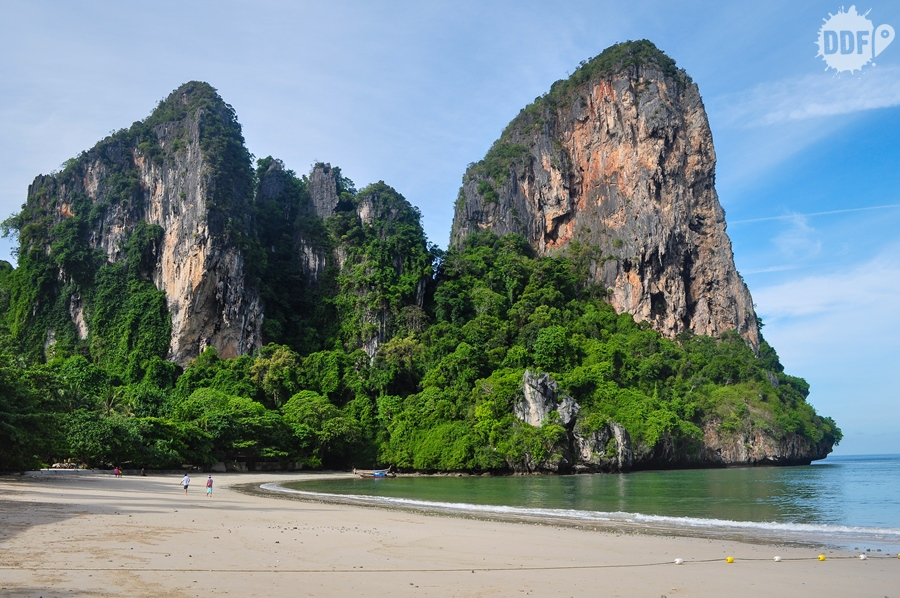 praia de railay beach na tailandia, a mais bonita de todo o pais
