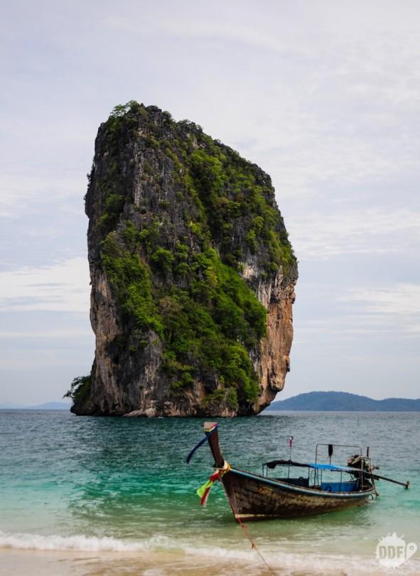 Praia de Poda Island, passeio das quatro ilhas / four island, saindo de Railay Beach, Krabi, Tailândia