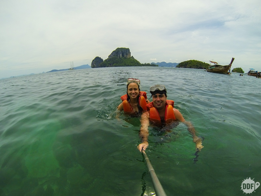 Passeio four islands / quatro ilhas, Railay Beach, Krabi, Tailândia
