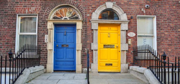 irlanda-dublin-portas-coloridas
