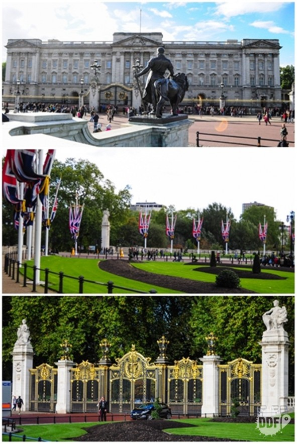 Londres-Palacio-Buckingham-Saint-James-Park