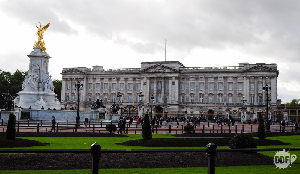 Londres Palacio de Buckingham Victoria Memorial Inglaterra