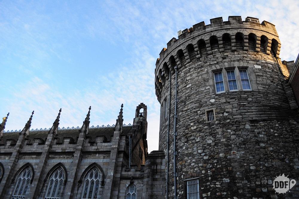 Dublin roteiro  Castle castelo torre original Irlanda